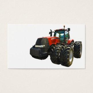 tracteur cartes de visite
