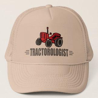 Tracteur drôle casquette