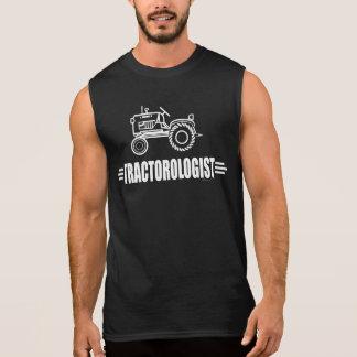 Tracteur drôle t-shirt sans manches