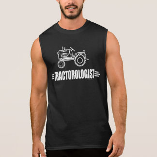 Tracteur drôle tee-shirt sans manches
