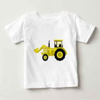 Tracteur jaune t-shirt pour bébé