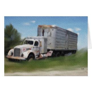 Tracteur/remorque dans une carte de champ