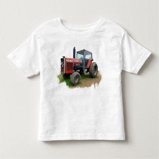Tracteur rouge de Massey Ferguson dans le domaine T-shirt Pour Les Tous Petits