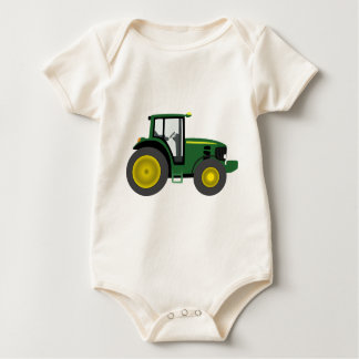 Tracteur vert body