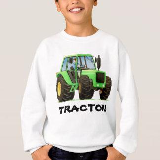 Tracteur vert sweatshirt