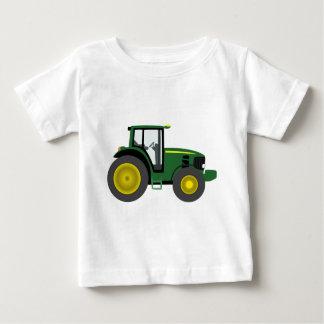 Tracteur vert t-shirt pour bébé