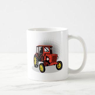 Tracteur vintage de ferme tasse à café