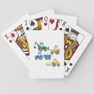 Tracteurs multiples cartes à jouer