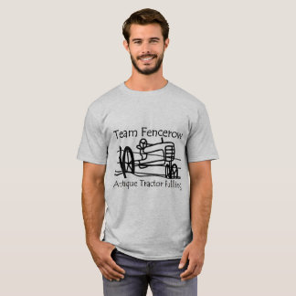 Traction antique de tracteur de Fencerow d'équipe T-shirt