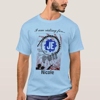 Traction Jacobs Nicole de clic de Cure Click de T-shirt