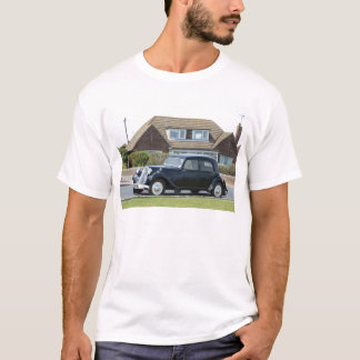 Traction noire Avant de Citroen T-shirt