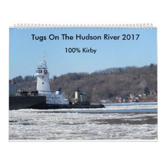 Tractions subites sur le fleuve Hudson 2017 Calendrier Mural