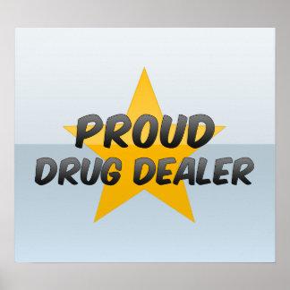 Trafiquant de drogue fier affiches