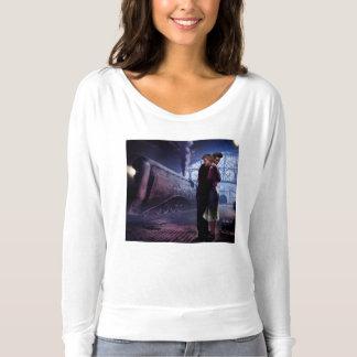 Train bleu t-shirts