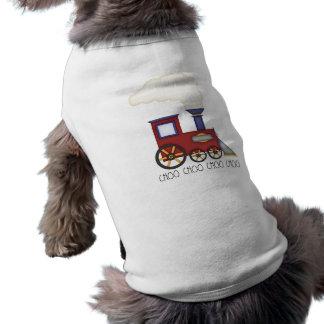 Train Choo Choo T-shirt Pour Chien