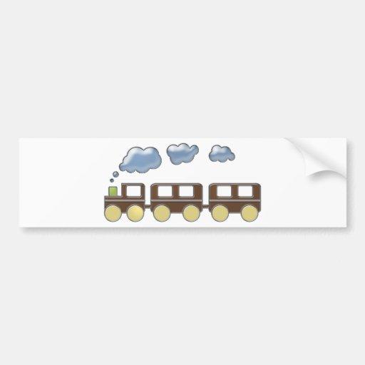 Train de Choo Choo Adhésifs Pour Voiture