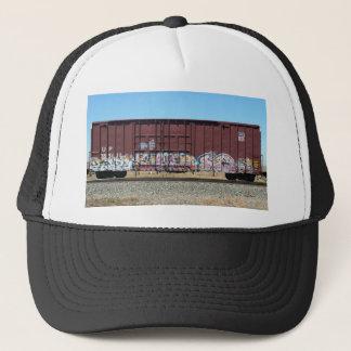Train de graffiti - casquette de camionneur de