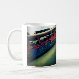 Train de graffiti mug blanc