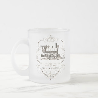 Train de pensée vintage mug