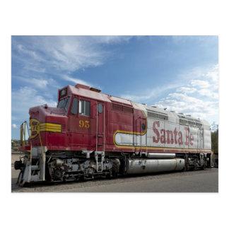 Train de Santa Fe Carte Postale