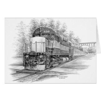 Train de station de Brecksville (CVNP) par le Cartes