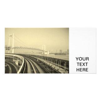 Train de Tokyo Cartes De Vœux Avec Photo