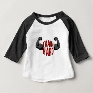 Train dur t-shirt pour bébé