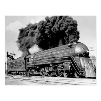 Train limité du 20ème siècle Highball il ! Cru Carte Postale