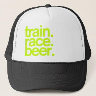 TRAIN.RACE.BEER. Casquette de camionneur