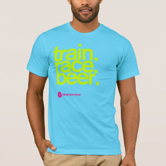 TRAIN.RACE.BEER. T-shirt d'aa