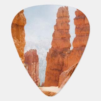 Traînée de parc national de canyon de Bryce Onglet De Guitare