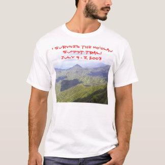 Traînée de sommet de Ko'olau de T-shirt de Kevin