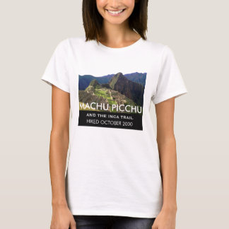 Traînée personnalisée Machu Picchu d'Inca T-shirt