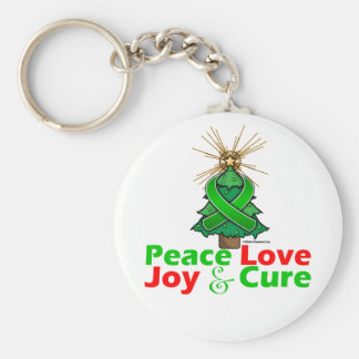 Traitement de joie d amour de paix de blessure de porte-clefs