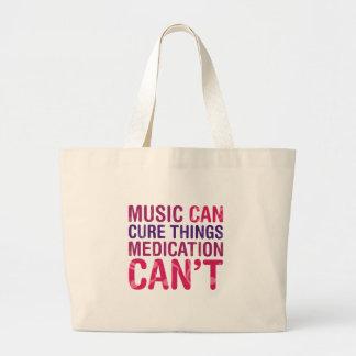 Traitement de musique grand sac