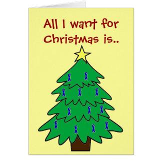 Traitement de Noël Carte De Vœux