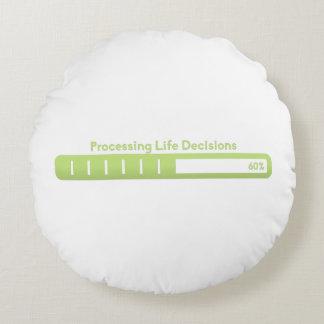 Traitement du coussin de décisions de la vie