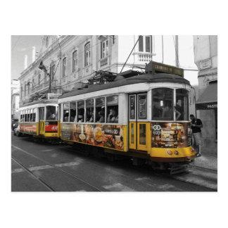 Tram 28 % pipe% Eletrico 28 Lisbonne de Lisbonne Carte Postale