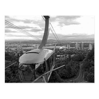 Tram d'antenne de Portland Carte Postale