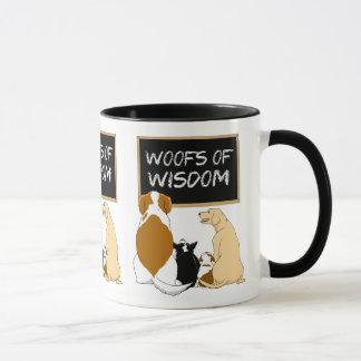 Trames de tasse de café de sagesse