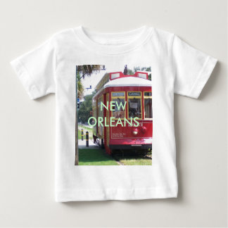 Tramway de la Nouvelle-Orléans T-shirt Pour Bébé