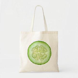 Tranche de concombre sac en toile budget