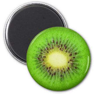 Tranche de kiwi magnet rond 8 cm