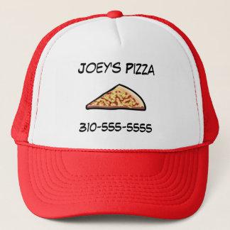 Tranche de pizza casquette
