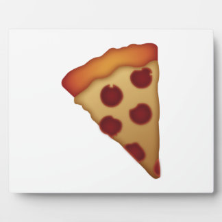 Tranche de pizza - Emoji Plaque Photo