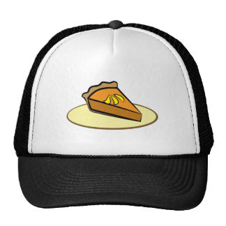 Tranche de tarte casquettes de camionneur