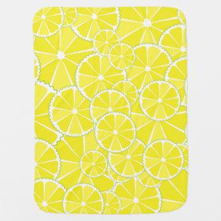 Tranches de citron couverture pour bébé