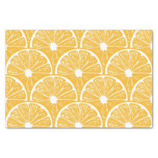 Tranches oranges, conception de motif de fruit papier mousseline
