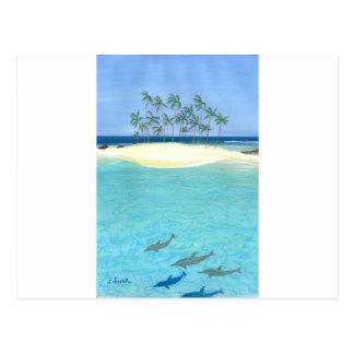 Tranquilité tropicale cartes postales