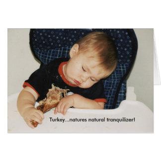 Tranquillisant naturel de natures de la Turquie… ! Carte De Vœux